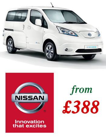 Nissan e-NV200 5 Seater Combi Bundle