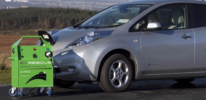 EV Rescue Mobile Charging Unit