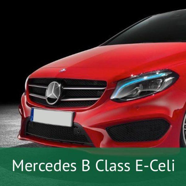 Mercedes B Class E-Celi Charging Cables