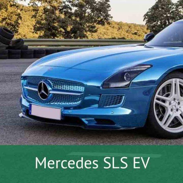 Mercedes SLS EV Charging Cables