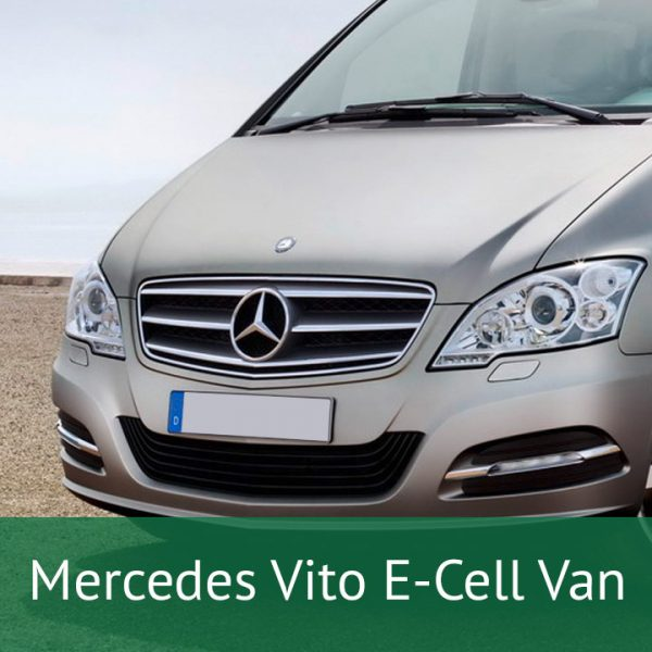 Mercedes Vito E-Cell Van Charging Cables