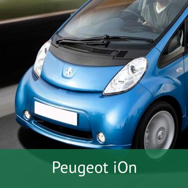 Peugeot iOn Charging Cables