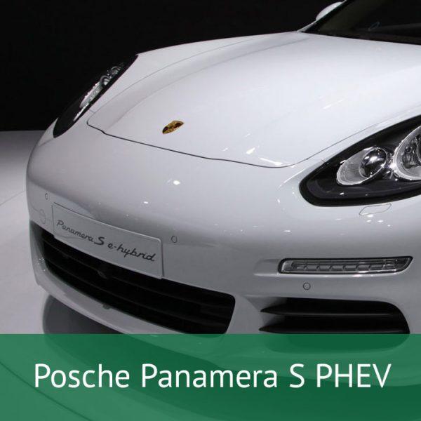 Porsche Panamera S PHEV Charging Cables