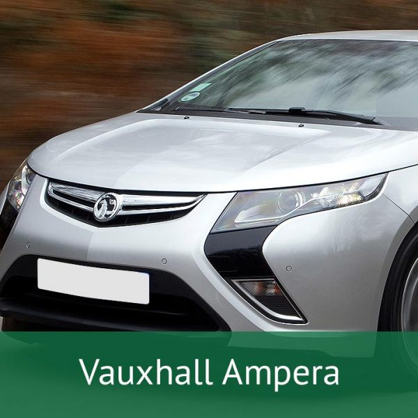 Vauxhall Ampera Charging Cables