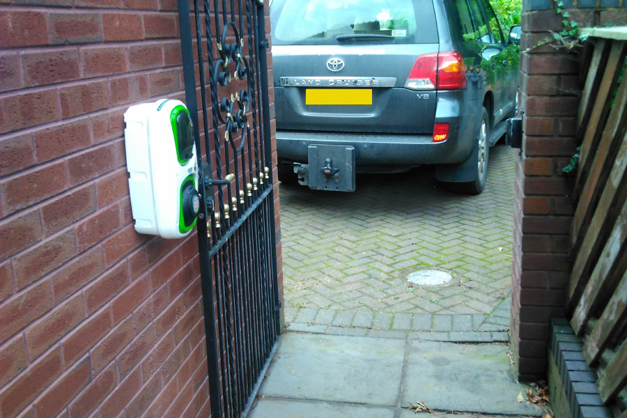 Home Electric Vehicle Charging Points