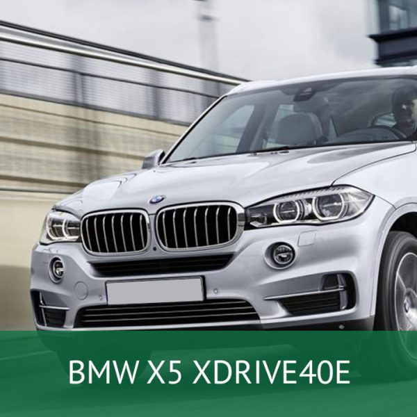 BMW X5 XDRIVE40E Charging Cables