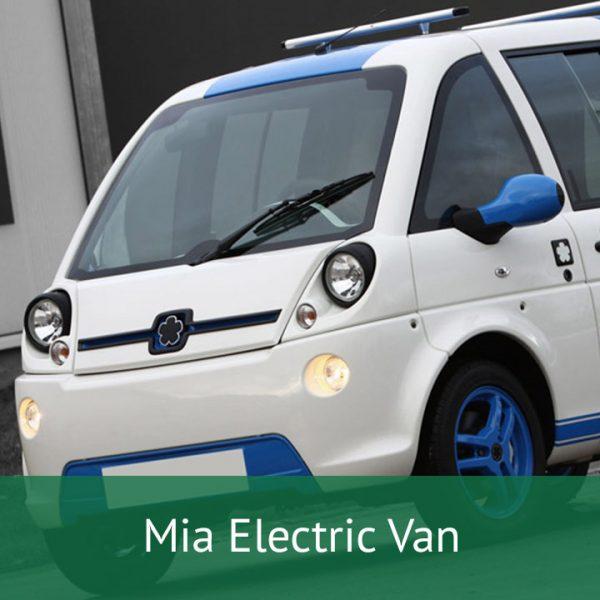 Mia Electric Van Charging Cables
