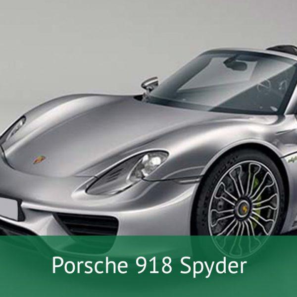 Porsche 918 Spyder Charging Cables