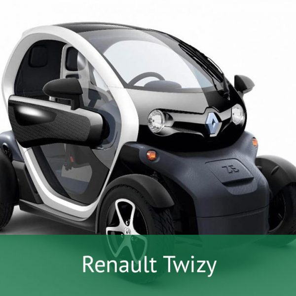 Renault Twizy Charging Cables