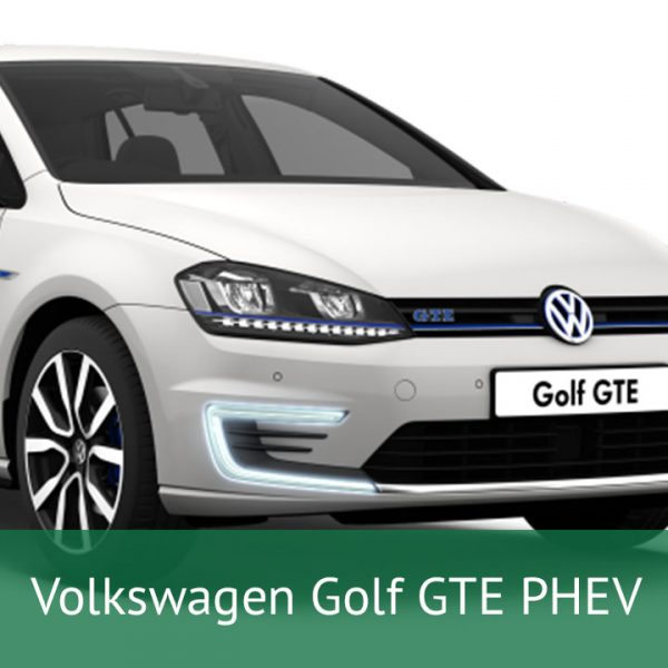 Volkswagen Golf GTE PHEV Charging Cables