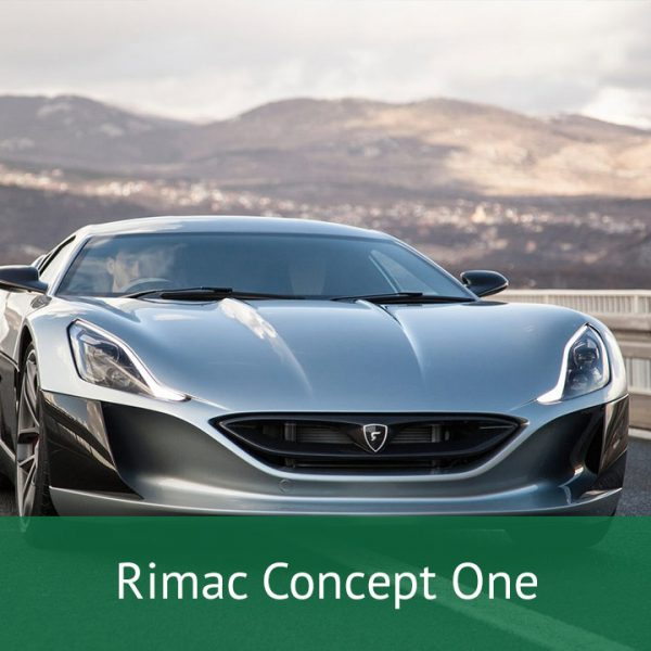 Rimac Concept One Charging Cables