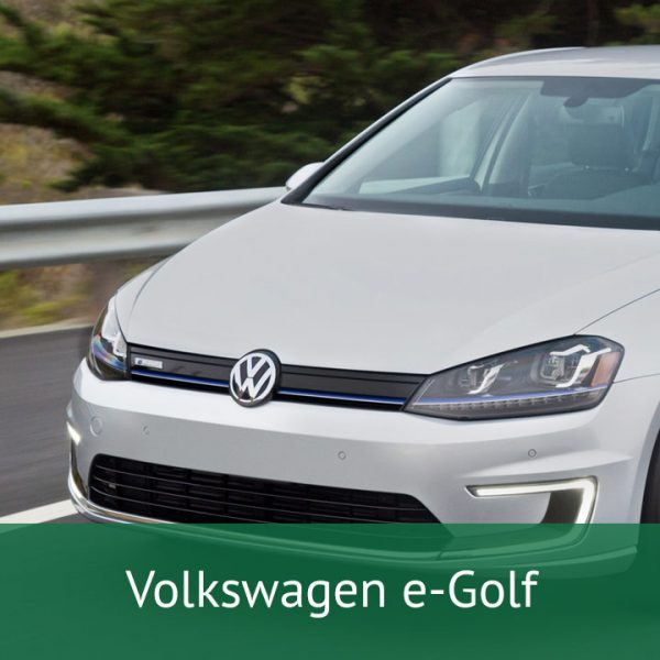 Volkswagen e-Golf Charging Cables