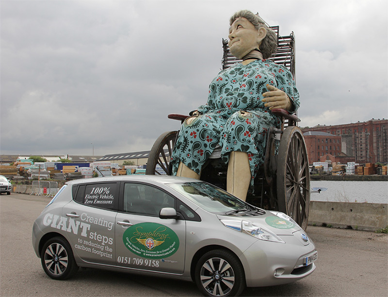 SYMPHONY EV leads the Liverpool Giants