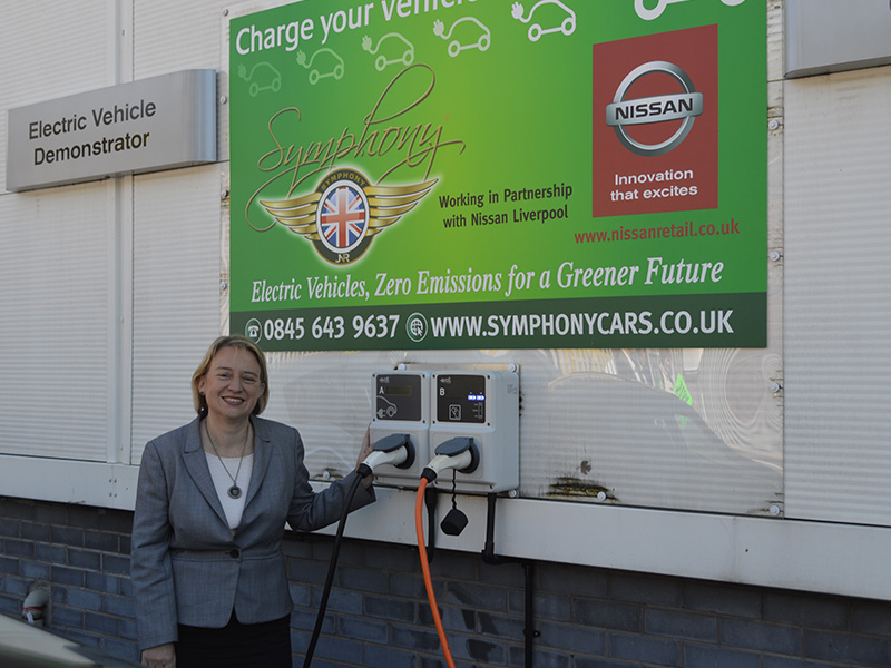 Green Party back SYMPHONY EV zero emission vehicles & retrofit EV conversions