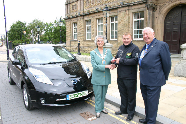 First Mayoral Car to go green!