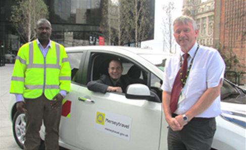 SYMPHONY EV provide Merseytravel with first electric car