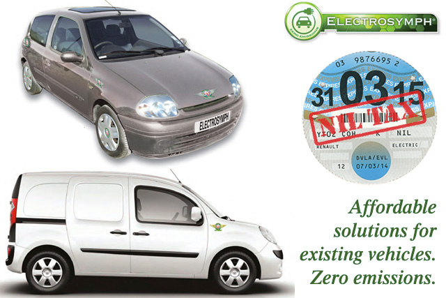 SYMPHONY EV - Fully approved by the DVLA for fuel to electric conversions