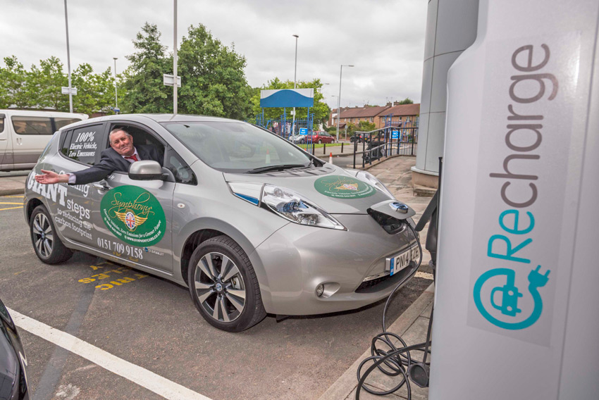 First - Fast EV Charging Points on the Wirral