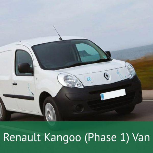 Renault Kangoo (Phase 1) Van Charging Cables