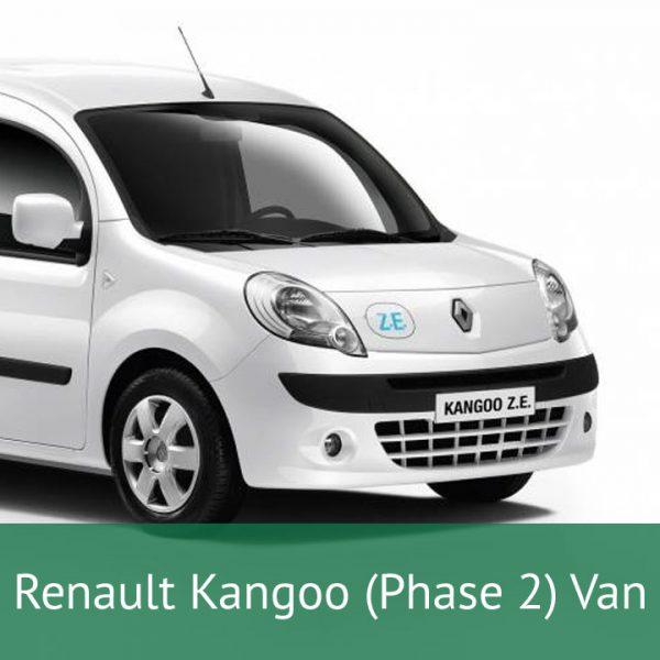 Renault Kangoo (Phase 2) Van Charging Cables