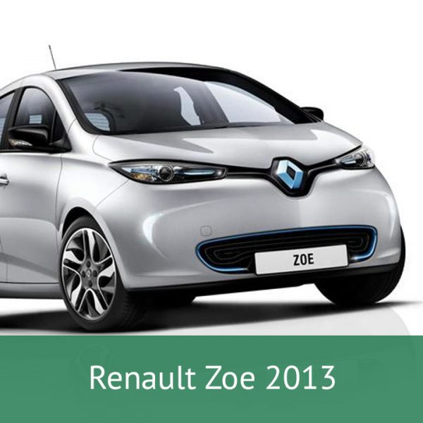 Renault Zoe 2013 Charging Cables