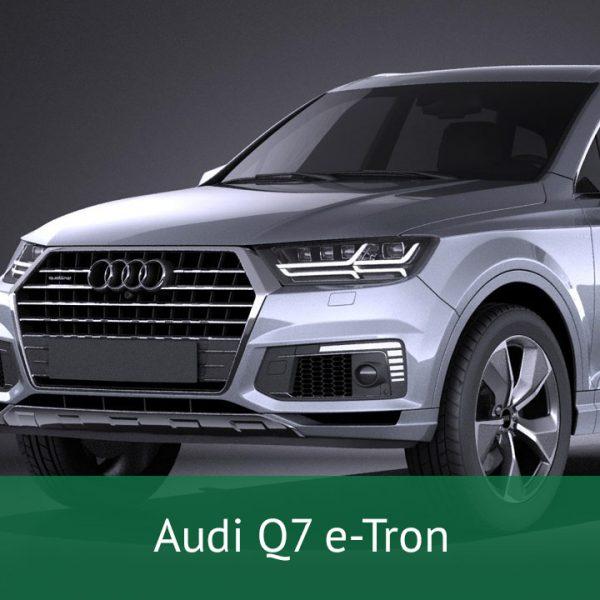 Audi Q7 e-Tron Charging Cables