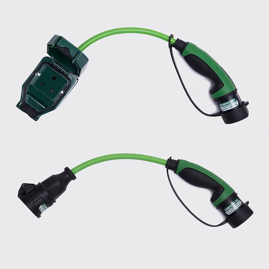 mahindra e2o domestic charging adapter symphony ev ze. Black Bedroom Furniture Sets. Home Design Ideas