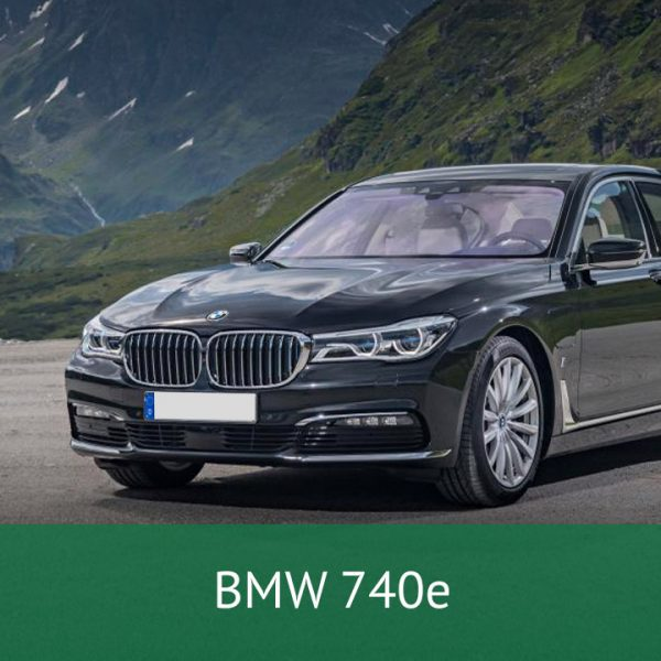 BMW 740e Charging Cables