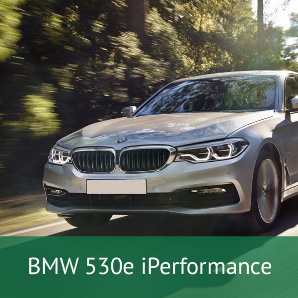 BMW 530e iPerformance Charging Cables