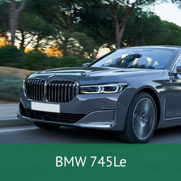 BMW 745Le Charging Cables