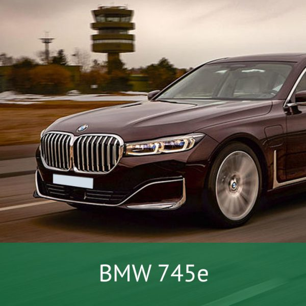 BMW 745e Charging Cables