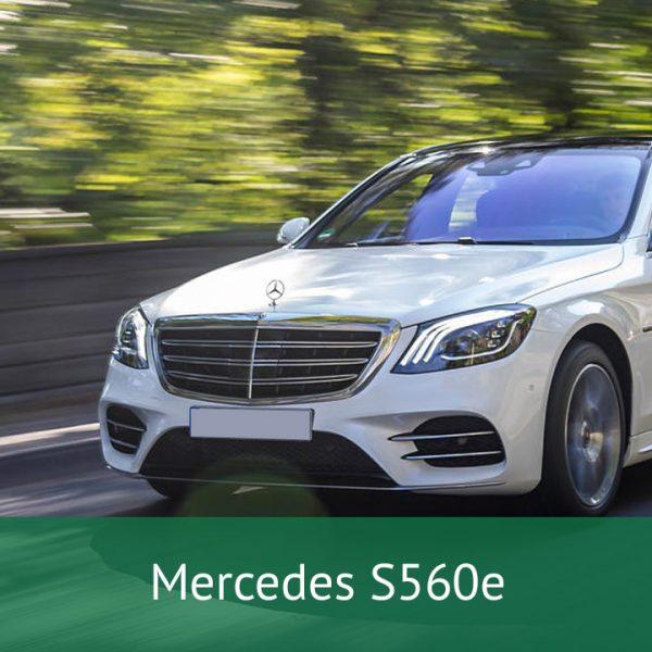 Mercedes S560e Charging Cables