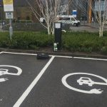 SYMPHONY EV-ZE Install St Catherine's NHS Hospital Charging Points