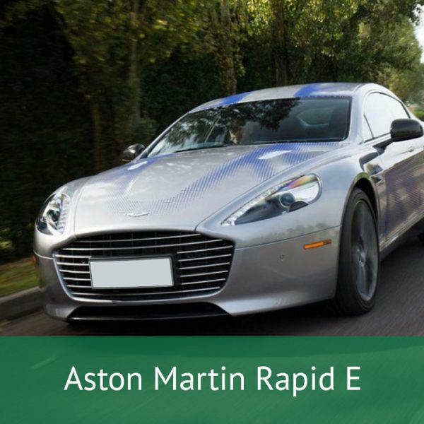 Aston Martin Rapid E Charging Cables