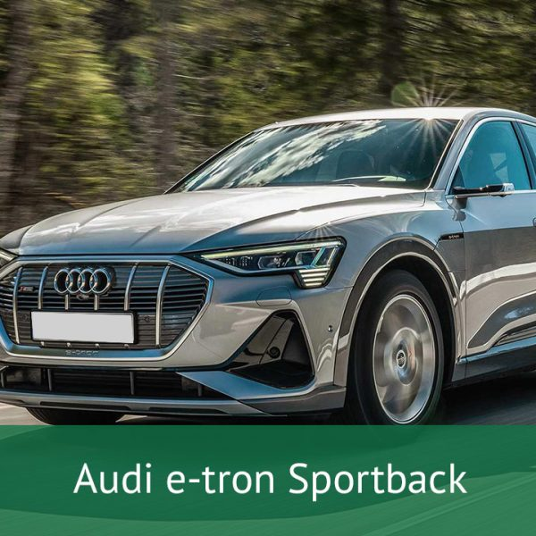 Audi e-tron Sportback Charging Cables