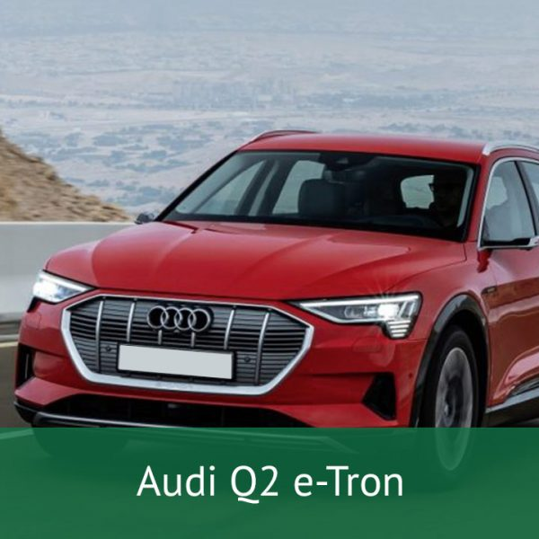 Audi Q2 e-tron Charging Cables