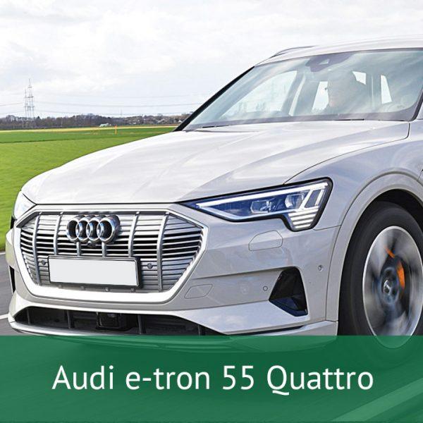 Audi e-tron 55 Quattro Charging Cables