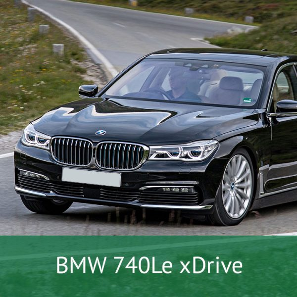 BMW 740Le xDrive Charging Cables