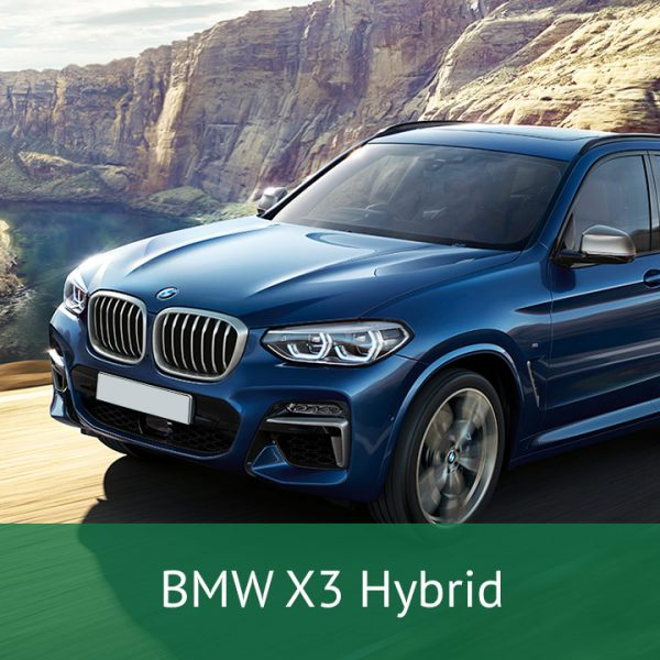 BMW X3 Hybrid Charging Cables